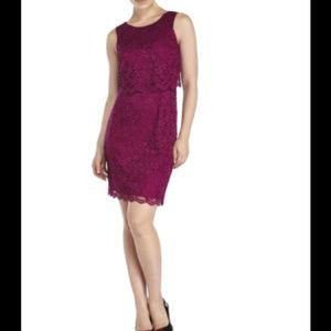 Ivanka Trump Lace Short Dress
